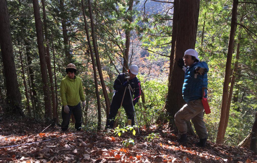 「書類のために森を測量しよう!」WSを開催